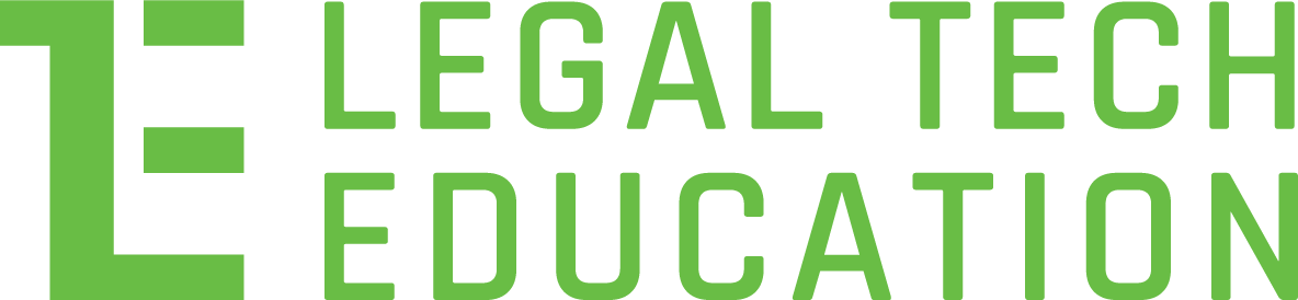 Legal Tech Education